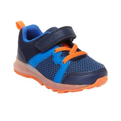 Carters Toddler boy shoes easy Zipper access Size 7 New