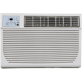 Keystone 12,000/11,600 BTU 230V Window/Wall Air Conditioner with 11,000 BTU Supplemental Heat Capability