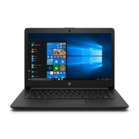 "HP 14.0"" HD Laptop 14-cm0010nr, AMD Dual-Core E2-9000e Processor, 4GB DDR4-1866 SDRAM, 500GB 5400RPM SATA HDD, AMD Radeon R2 Graphics, HD Webcam, Win10 Home"