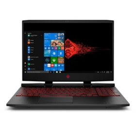 HP OMEN Gaming Laptop 15-dc0010nr, Intel Core i5-8300H Processor, NVIDIA GeForce GTX 1050 Ti Graphics, 12 GB RAM, 1TB HDD, 128 GB SSD