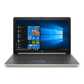 "HP 17.3"" HD+ Notebook, Intel Core i5-8250U Processor, 24GB Memory:  16GB Intel Optane + 8GB RAM, 1TB Hard Drive, Optical Drive, HD Webcam, Backlit Keyboard, 2 Year Warranty Care Pack, Windows 10 Home, Multiple Colors"