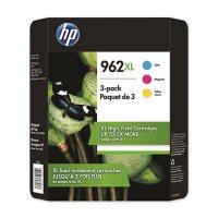 HP 962XL High Yield 3 Pack Cyan/Magenta/Yellow Original Ink Cartridge