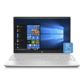 "HP Pavilion Touchscreen 15.6"" Full HD IPS Notebook, Intel Core i7-8550U Processor, 24GB Memory:  16GB Intel Optane + 8GB RAM, 1TB Hard Drive, HD Wide FOV Webcam, Backlit Keyboard, B&O Play Audio, 2 Year Warranty Care Pack, Windows 10 Home, Various Colors"
