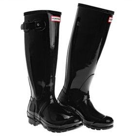 Hunter Women's Tall Glossy Rain Boots