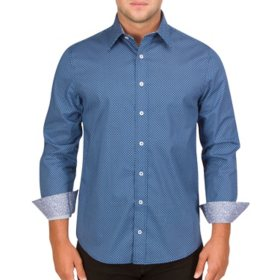 Nick Graham Men's Long Sleeve Woven Shirt