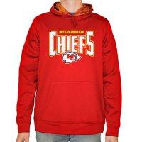 NFL Men's Zubaz Pullover Hoodie Sweatshirt Kansas City Chiefs
