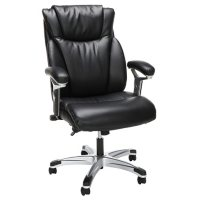 OFM Essentials Series Ergonomic Executive Bonded Leather Office Chair, Choose a Color (ESS-6046)