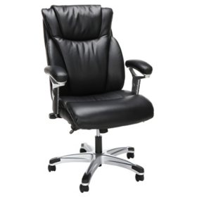 OFM Essentials Series Ergonomic Executive Bonded Leather Office Chair, ESS-6046 (Assorted Colors)