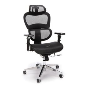 OFM 540 Core Collection Ergo Office Chair with Mesh Back and Seat plus Head Rest (Assorted Colors)