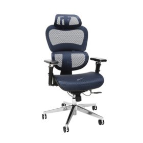 OFM 540 Core Collection Ergo Office Chair with Mesh Back and Seat plus Headrest, Assorted Colors