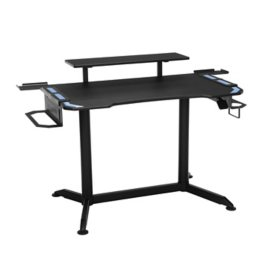 RESPAWN 3010 Gaming Computer Desk - Ergonomic Height Adjustable Gaming Desk, Choose a Color (RSP-3010)