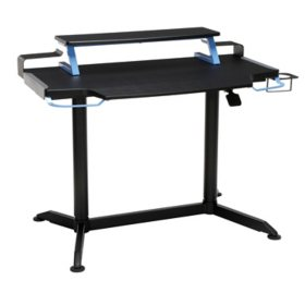 RESPAWN 3000 Gaming Computer Desk - Ergonomic Height Adjustable Gaming Desk, Choose a Color (RSP-3000)