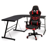 SamsClub deals on OFM Essentials Collection Gaming Chair and 60-in L-Shaped Desk