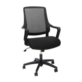 HON Basyx Helium Commercial-Grade Light Task Chair, Office Chair, Choose a Color (BSX100)