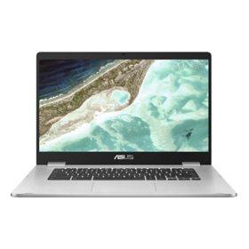"ASUS - 15.6"" HD Chromebook -  Intel Celeron N3350 Processor - 4GB Memory - 32GB eMMC Storage - NanoEdge Display with 180 Degree Hinge - Chrome OS"