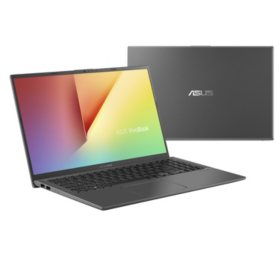 "ASUS Vivobook 15.6"" FHD Laptop, AMD Dual Core Ryzen 3-3200U Processor, 4GB Memory, 128GB SSD Storage, 2 Year ADP + 1 Year Warranty, Slate Gray"