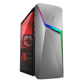 ASUS - ROG Strix - Gaming Desktop - AMD Ryzen 7 3700X - GeForce GTX 1660Ti - 16GB DDR4 RAM - 1TB HDD + 512GB PCIe SSD - Wi-Fi 5 - Windows 10 Home