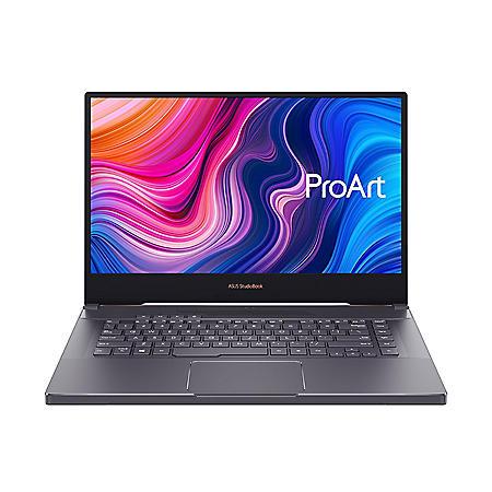 "ASUS - ProArt StudioBook - 15.6"" Mobile Workstation Laptop - 9th Gen Intel Core i7 - 32GB RAM -  512GB + 512GB SSD -  NVIDIA GeForce RTX 2060 - NanoEdge Bezel - Windows 10 Pro"