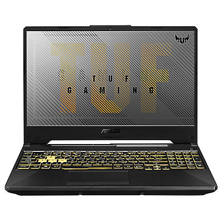 "ASUS - TUF - 15.6"" Full HD Gaming Laptop - AMD Ryzen 5-4600H Processor -  8GB RAM - 512GB PCIe SSD - RGB Backlit Keyboard - Windows 10 Home"