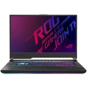 "ASUS - ROG Strix G17 - 17.3"" 144Hz Full HD IPS Gaming Laptop - 10th Gen Intel Core i7 - 16GB DDR4 RAM - 512GB PCIe NVM SSD - NVIDIA GeForce RTX 2060 - RGB Keyboard - Windows 10 Home"