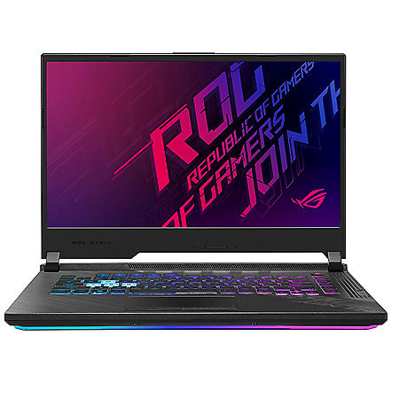 "ASUS - ROG Strix G15 - 15.6"" 144Hz Full HD IPS Gaming Laptop - 10th Gen Intel Core i7 - 16GB DDR4 RAM - 512GB PCIe SSD - NVIDIA GeForce GTX 1660Ti - RGB Keyboard - Windows 10 Home"