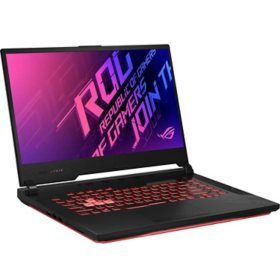 "ASUS - Republic of Gamers Strix G15 - 15.6"" Full HD Gaming Laptop - 10th Gen Intel Core i7 -  16GB Memory - 512GB Solid State Drive - NVIDIA GeForce GTX 1650Ti - Backlit RGB Keyboard - 2 Year Warranty Care Pack - Windows 10 Home"