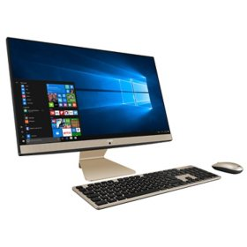 "ASUS - Vivo  - 23.8"" Full HD Touchscreen All-in-One - AMD Ryzen 5 - 8GB DDR4 RAM - 512GB PCIe SSD - Anti-Glare Display - Kensington Lock - Windows 10 Home"