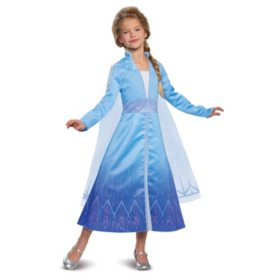Girls Elsa Frozen 2 Prestige Costume