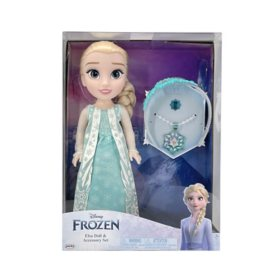 Disney Frozen Elsa Doll and Accessory Set