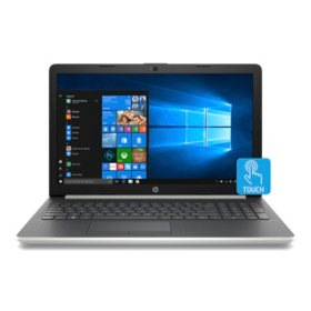 "HP Touchscreen 15.6"" HD Notebook, AMD A9-9425 Processor, 4GB Memory, 2TB Hard Drive, Optical Drive, HD Webcam, Backlit Keyboard, HD Audio, 2 Year Warranty Care Pack, Windows 10 Home, Multiple Colors"