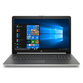 "HP 17.3"" HD+ Notebook, Intel Core i5-8250U Processor, 24GB Memory:  16GB Intel Optane + 8GB RAM, 2TB Hard Drive, Optical Drive, HD Webcam, Backlit Keyboard, 2 Year Warranty Care Pack + Protection, Windows 10 Home, Multiple Colors"