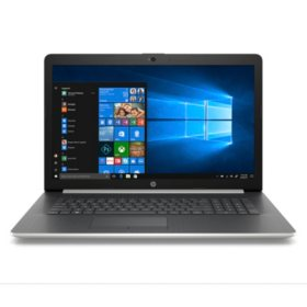 "HP 17.3"" HD+ Notebook, Intel Core i3-8130U Processor, 20GB:  16GB Intel Optane + 4GB RAM, 2TB Hard Drive, Optical Drive, HD Webcam, HD Audio, 2 Year Warranty Care Pack, Windows 10 Home, Multiple Colors"