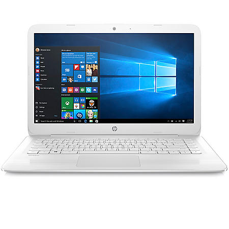 """HP 14"""" HD Stream Notebook, Intel Celeron N4000 Processor, 4GB Memory, 32GB eMMC Hard Drive, Windows 10 S, Office 365 1yr Subscription, 2 Year Warranty Care Care Pack with Accidental Damage Protection"""