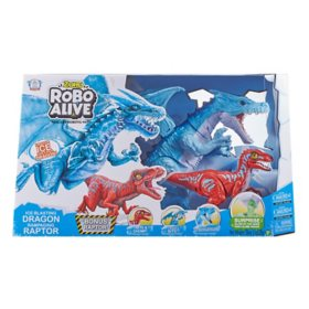 Blue Dragon and Red Raptor Combo Pack