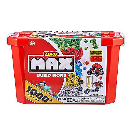 MAX BUILD MORE - Value Bricks Set (759 Bricks+250 Accessories)