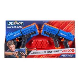 X-Shot-Dart Ball Blaster-Chaos Meteor - 2 Pack