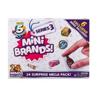 Zuru 5 Surprise- Mini Brands-Series3 24 Surprise Pack Advent Calendar