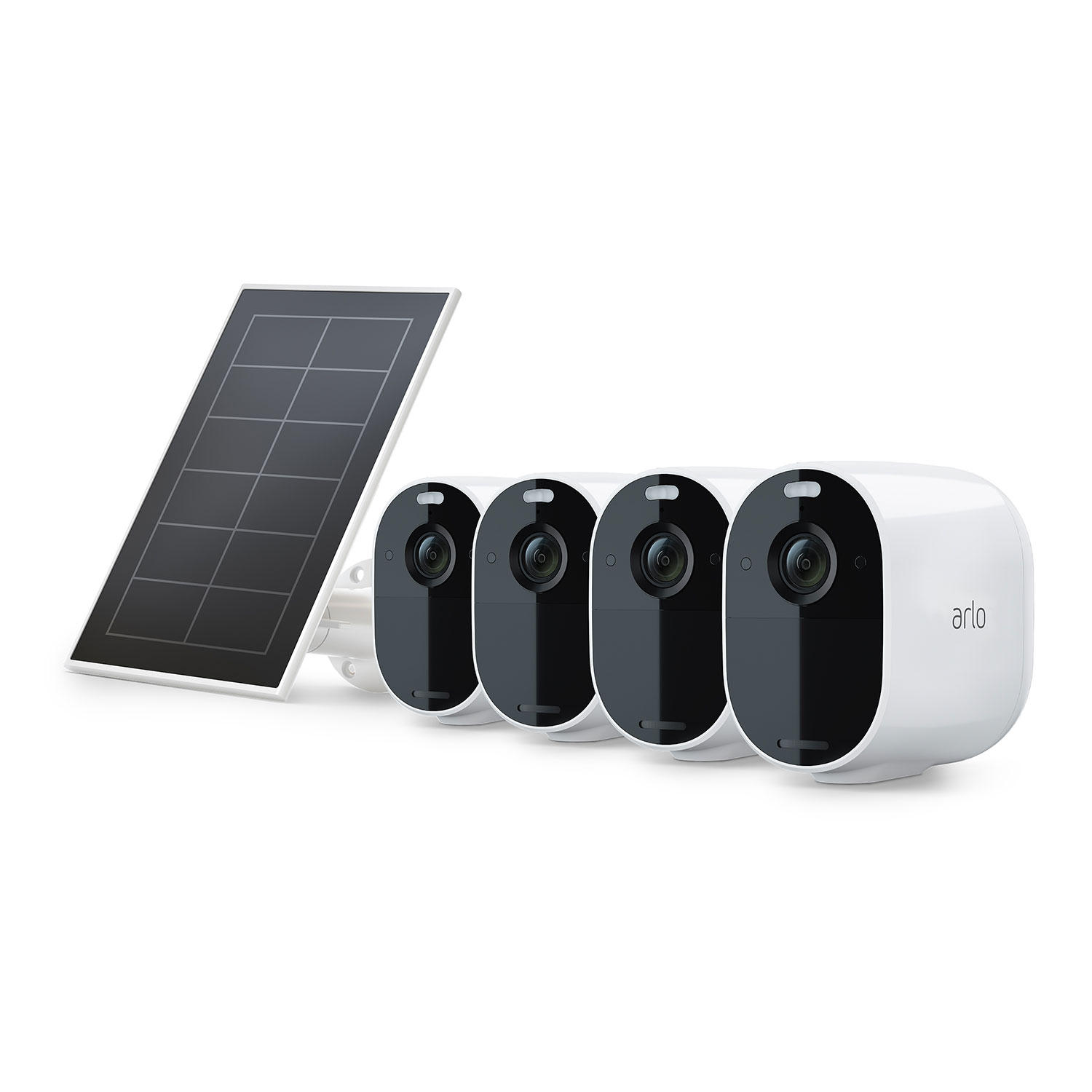 Arlo Essential Spotlight Camera + Solar Panel