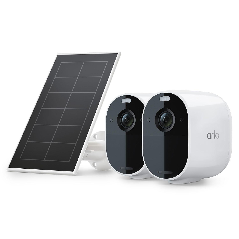 Arlo Essential Spotlight Camera + Solar Panel