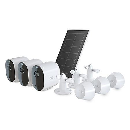 Arlo Pro 4 3 Cam Kit with Bonus Solar Panel
