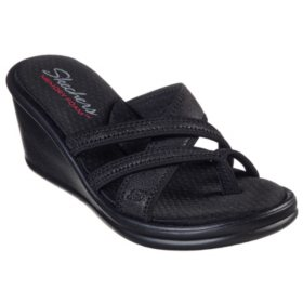 f4b87658c168 Skechers Black Wedge. View more options