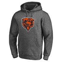 NFL Men's Press Forward Iconic Fleece Pullover Hoodie Chicago Bears