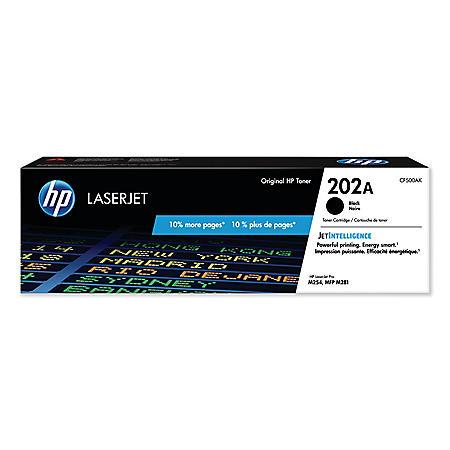 HP 202A Black Original LaserJet Toner Cartridge - Bonus Club Yield
