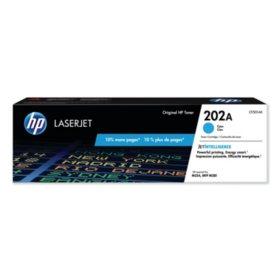 HP 202A Cyan Original Laserjet Toner Cartridge - Bonus Club Yield