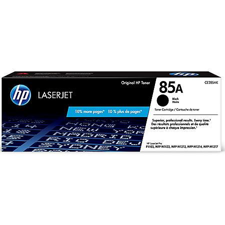 HP 85A Black Original LaserJet Toner Cartridge - Bonus Club Yield