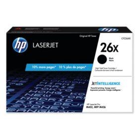HP 26X High Yield Black Original LaserJet Toner Cartridge - Bonus Club Yield