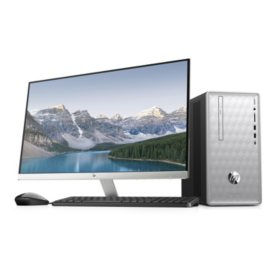 "HP Pavilion 27"" Full HD Desktop Bundle, Intel Core i5-8400 Processor, 24GB Memory: 16GB Intel Optane + 8GB RAM, 1TB Hard Drive, Optical Drive, Keyboard and Mouse, 2 Year Warranty Care Pack, Windows 10 Home"