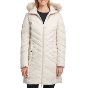 Kenneth Cole Women's Long Down Jacket
