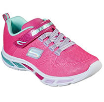 Pink 5 Skechers Light up kids Shoes