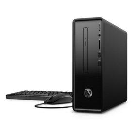 HP Slim Desktop Tower, AMD A4-9125 Processor, 4GB Memory, 1TB 7200RPM Hard Drive, Windows 10 Home